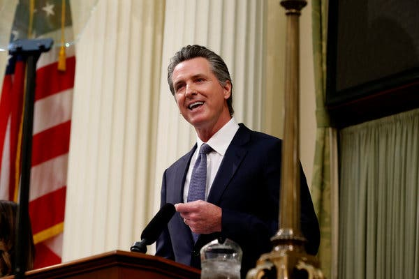 """Let's Call It a Disgrace"": California Gov. on Homelessness"
